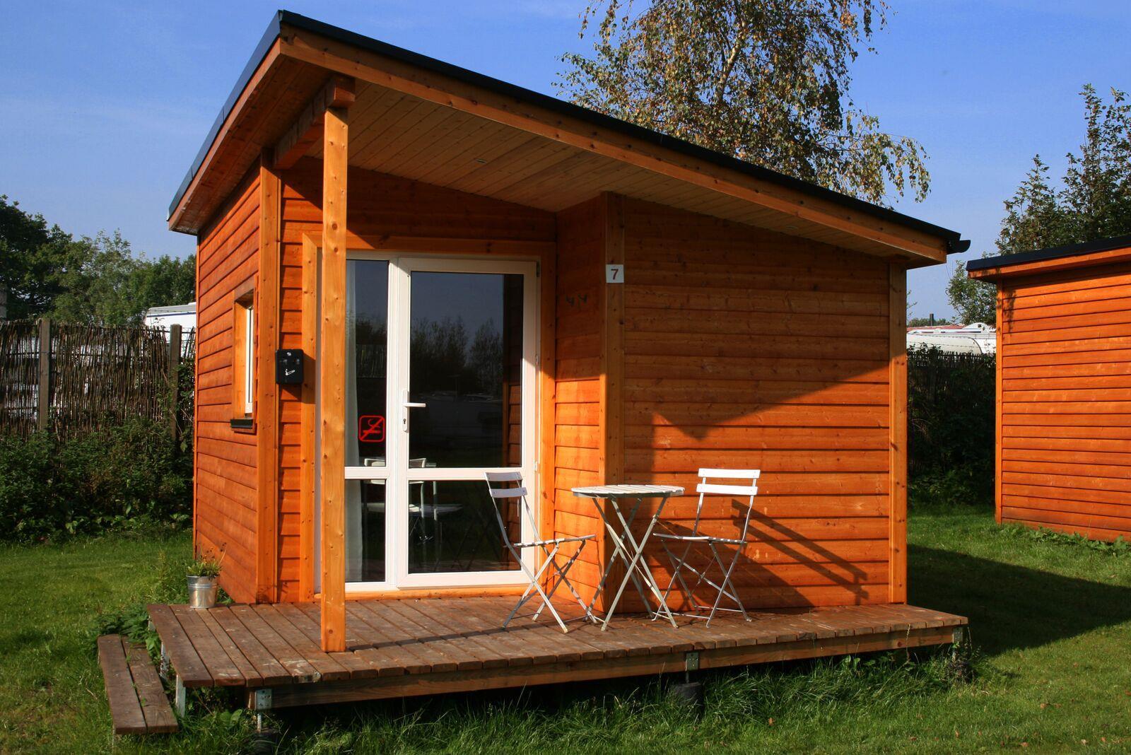 Kolding City Camp - Campinghytte - v/k vand + eget toilet - 17 m² ...