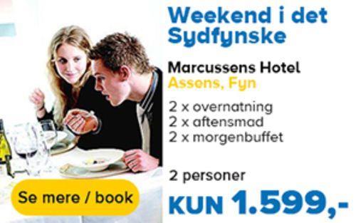 tilbud - marcussens hotel